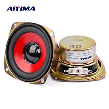 AIYIMA 2PCS 3 inch Audio Speaker 4ohm 10W Full Range Alto Altavoz Satellite Loudspeaker For Bluetooth Speaker DIY Home Theater