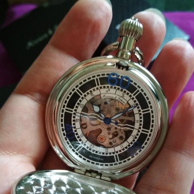 Механические карманные часы KS