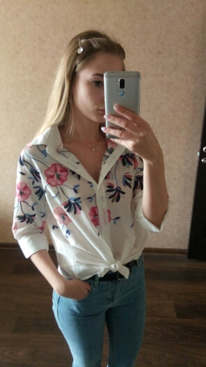 Sheinside White Embroidery Long Sleeve Shirts Floral Button Top 2018 Spring Women Office Work Wear Elegant Blouse