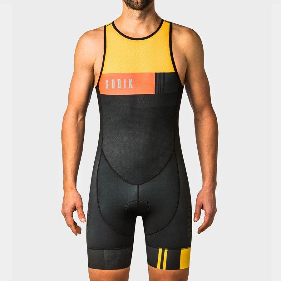 gobik factory team lycra skin suit body custom cycling clothing set ropa ciclismo bicicleta running wear triatlon swimwear kits