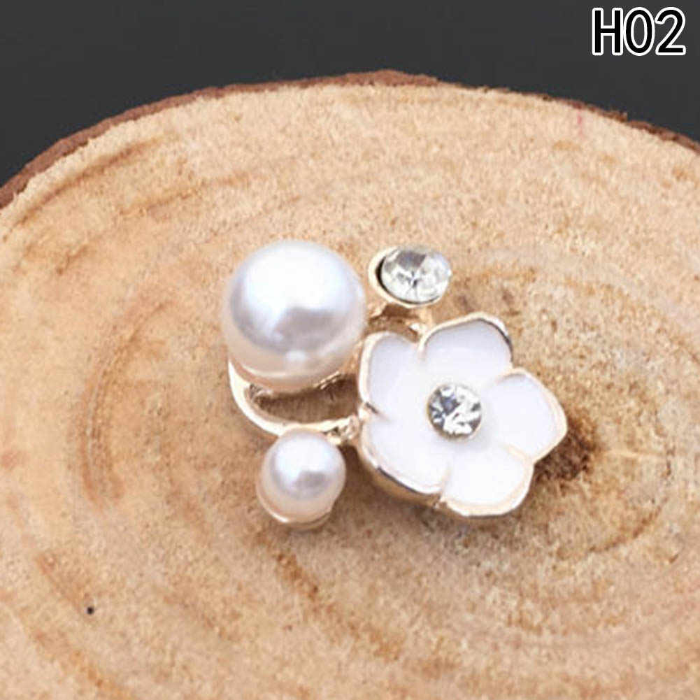 2pc /set Fashion Wedding Bridal Crystal Faux Pearl Flower Hairpin Hair Clip Bridesmaid 11 Style Choose