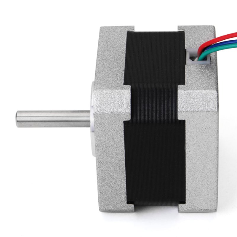 NEMA17 0.9 Degree 42mm Two Phase Hybrid Stepper Motor 1.33A 34mm For CNC High Quality nema17 1 8 degree 42mm 2 phase stepper motor fit adapter drive jk0220 for 3d printer cnc jk42hs40 1704