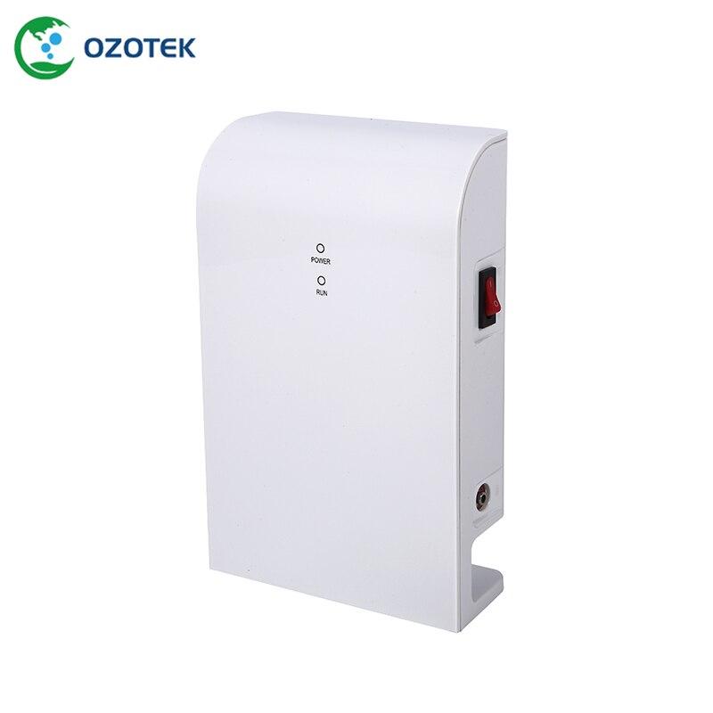 Gerador de ozônio de tratamento de água em TWO001 12VDC Inteligente 0.2-1.0 ppm para vegetal frete grátis