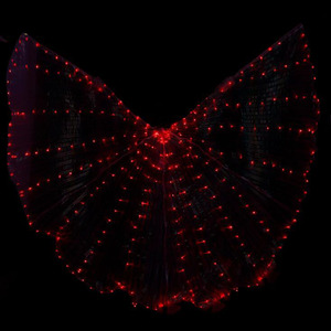 Image 5 - Hot Selling Bellydancing LED Isis Wings Nice Oriental Dance Accessory LED Wings Sexy Stage Show Props Wings 5 colors