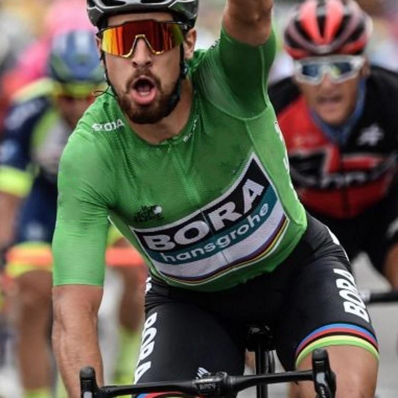 2018 tour de france green champion honer team peter sagan cycling jersey sets summer Short sleeve bike cloth MTB Ropa Ciclismo