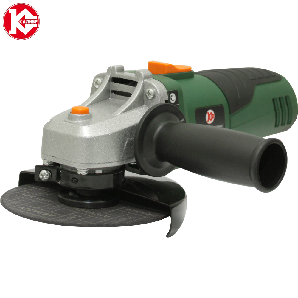 Electric tool Angle grinder Kalibr MSHU-115/755, disc 115mm, power 755W, angular power tool for grinding and cutting metall mayitr m10 angle grinder flange kit lock nut inner outer set power tool accessories new