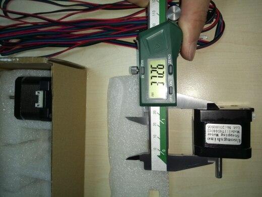 5 шт. 4 привести Nema17 шагового двигателя 42 двигатель Nema 17 двигателя 42bygh 38 мм 1.5A (17HS4401) двигатель для ЧПУ XYZ 3d принтер двигателя