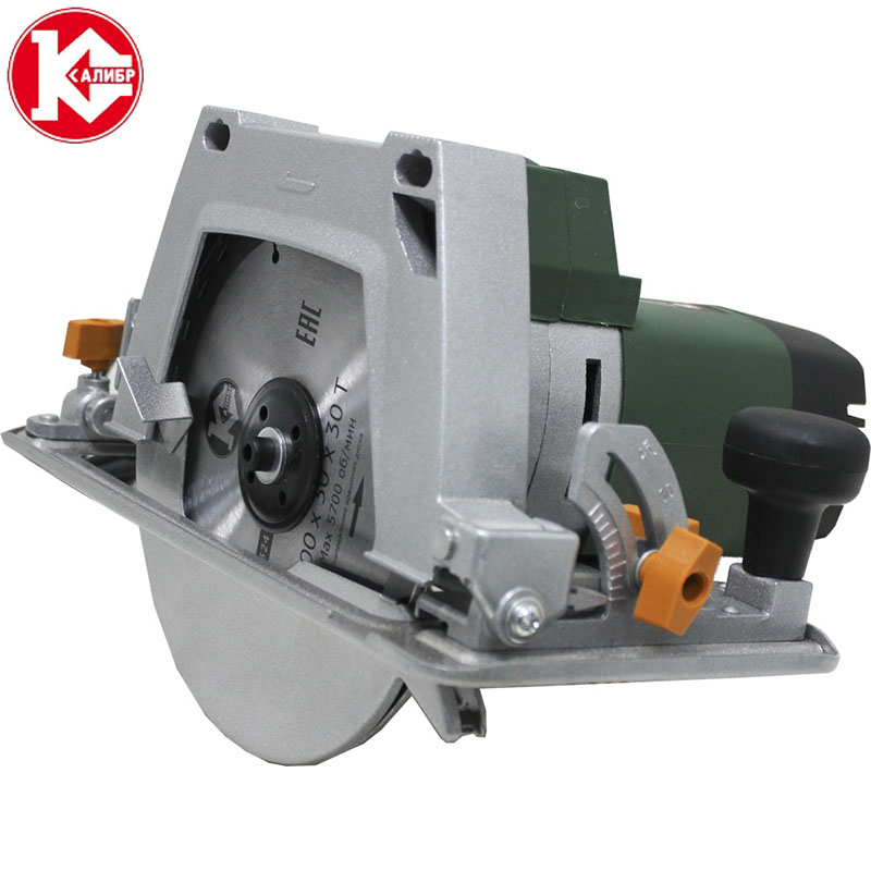 Kalibr EPD-2100/200+St Electric Circular Saw For Wood With A Blade  Tool Circle Saw