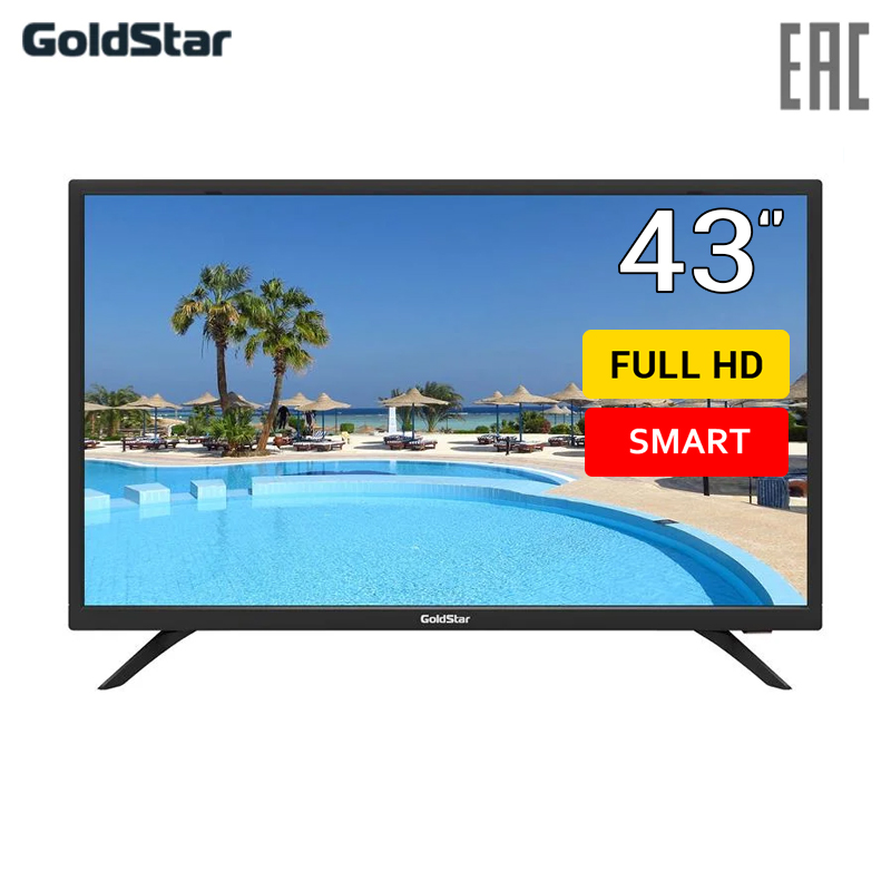 TV 43 GOLDSTAR LT-43T600F FullHD SmartTV 4049inchTV tv led lg 43 43uk6390plg 4k uhd smarttv 4049inchtv