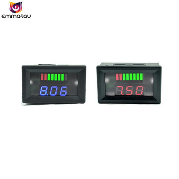 DC 48V Lead-acid Batteries Indicator Car Red LED Acid Lead Tester Battery Capacity Voltage Test Analyzer image