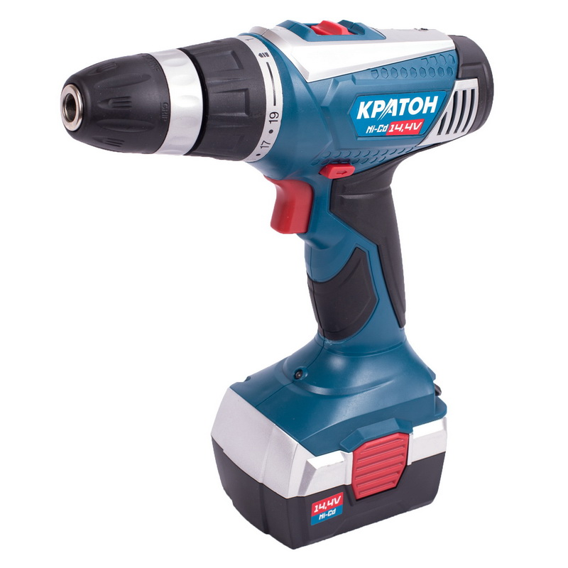 цена Drill-screwdriver rechargeable Kraton CD-14-K онлайн в 2017 году