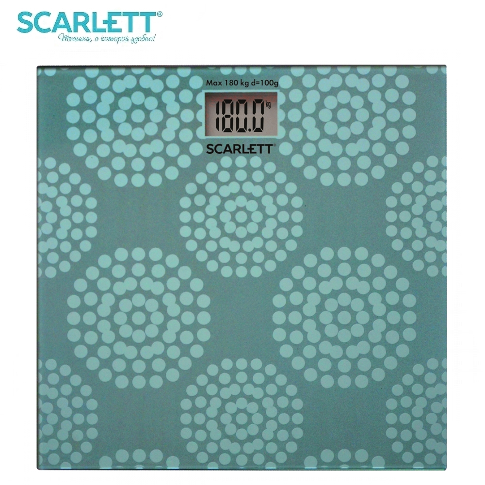 Scale floor Scarlett SC-BS33E073 smart Electronic body Scales for weighing human scales weight
