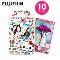 Fujifilm Instax Mini Плёнки новый рисунок «Hello Kitty» для Fuji Фотоаппарат моментальной печати Neo 90 8 7 s 25 55i SP-1 300 ЛОМО Фотобумага 10 Простыни детские