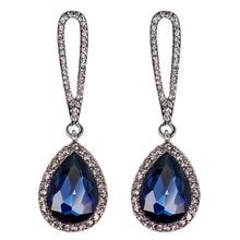 1 Pair Fashion Charming Jewelry Boutique Earrings Water Drop Shaped Luxury Earrings Drop Shipping