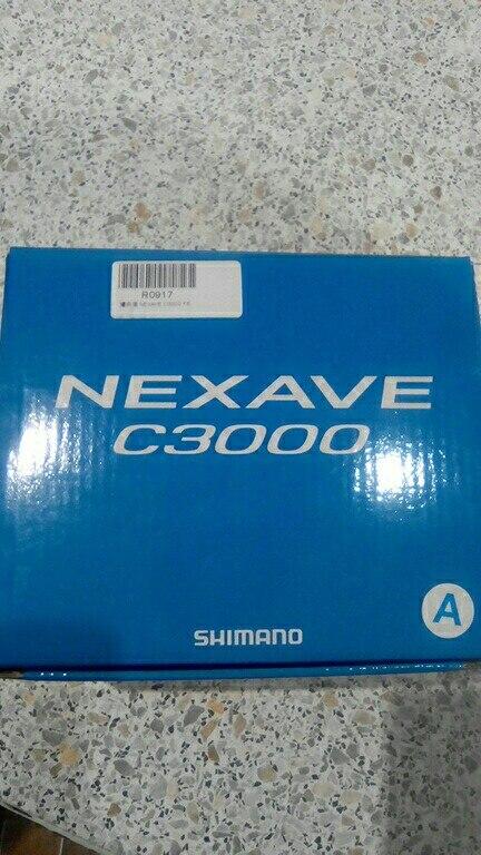 Новое поступление оригинальной SHIMANO NEXAVE 1000 2500 C3000 4000 5000hg 5,0: 1 Low Передаточное отношение спереди Перетащите 4BB Морской Карп Рыболовная катушка