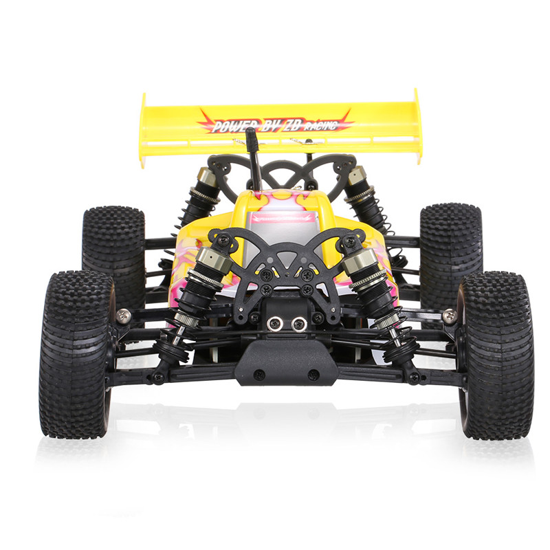 ZD Racing 9102 Thunder B-10E DIY Car Kit 2.4GHz 4WD 1/10 Scale Brushless RC Off-Road Buggy zd racing 9072 1 8 scale 4wd 60km h speed brushless rc off road buggy rtr