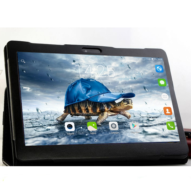 K99 10.1' Tablets Android 6.0 10 Core 128GB ROM Dual Camera 8MP Dual SIM Tablet PC GPS bluetooth phone MT6797 Free Gift Cover