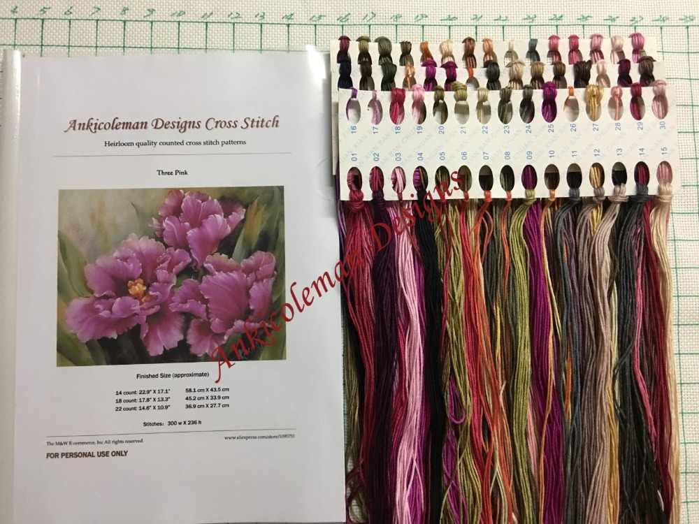 Wig Maker-Dihitung Cross Stitch Kit-DIY Buatan Tangan Menjahit untuk Bordir 14 Ct Cross Stitch Set DMC warna