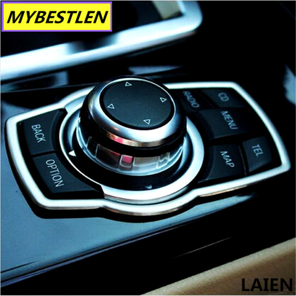 Buttons-Cover BMW Car-Accessories Interior Car-Styling For Refit Multimedia X1x3/X5x6/F20/..