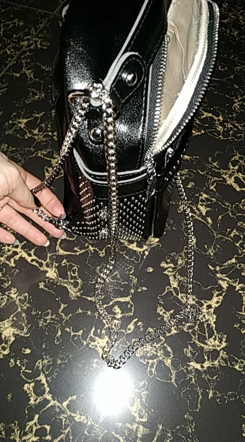 Light 120cm (DIY 40-140cm) Gold, Silver, Gun Black, Bronze 7mm Replacement Purse Chain Shoulder Bag Straps for Small Handbags photo review