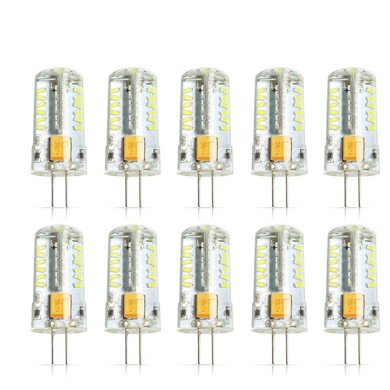 10Pcs/lot Cree Hot Sale 57LED lamp G4 corn Bulb AC DC12V 5W SMD 3014 LED light 360 degrees Beam Angle spotlight lamps bulb