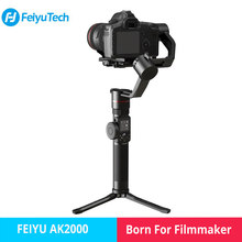 FeiyuTech Feiyu AK2000 3-Axis Camera Stabilizer Gimbal for DSLR Camera Sony Canon 5D Panasonic GH5 Nikon 2.8 kg Payload(China)