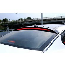 Osmrk ABS tail wing roof visor rear spoiler for kia K5 optima 2011-2016 with additional brake light