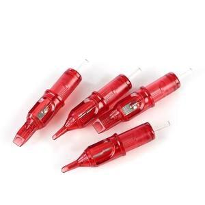Image 3 - Dragon Fire 10pcs Tattoo Cartridge Needles Curved Magnum Disposable Semi Permanent Eyebrow Makeup Needles 5RM/7RM/9RM/11RM/13RM