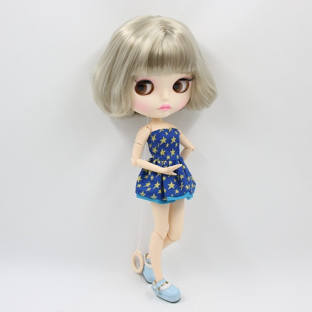 Factory Neo Blythe Doll Colorful Hair Jointed Body 30cm