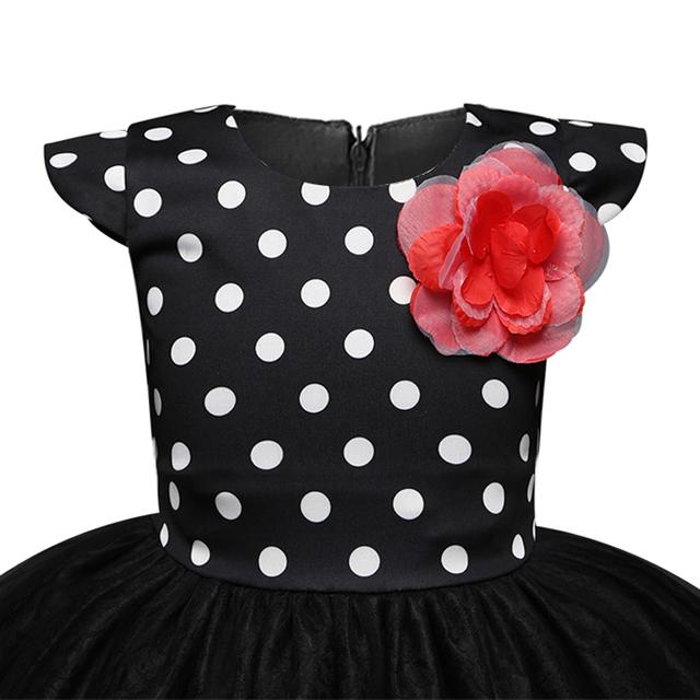 New Tulle Polka Dot Girls Dress
