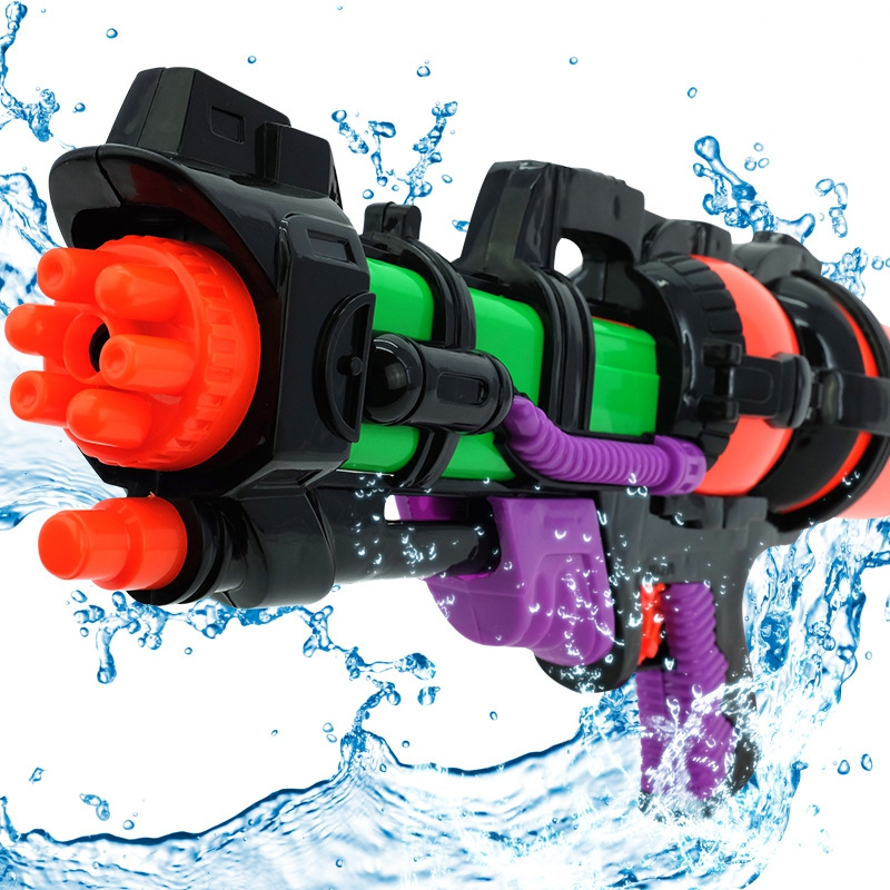 New Big 44cm High Pressure Large Capacity Water Gun Pistols Toy Water Guns Large Children Guns Kids Outdoor Games