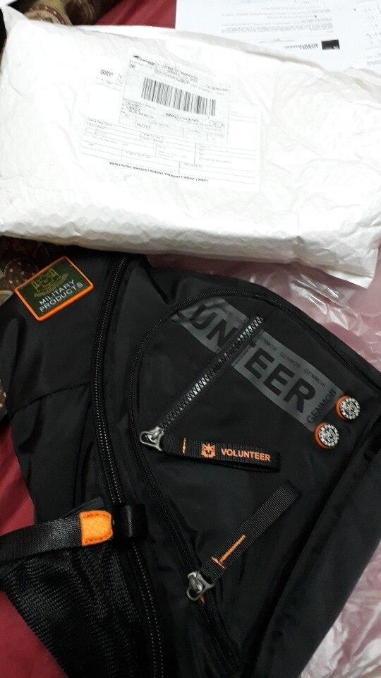 High Quality Waterproof Oxford Sling Rucksack Backpack Knapsack School Military Travel Men Shoulder Cross Body Chest Bags photo review