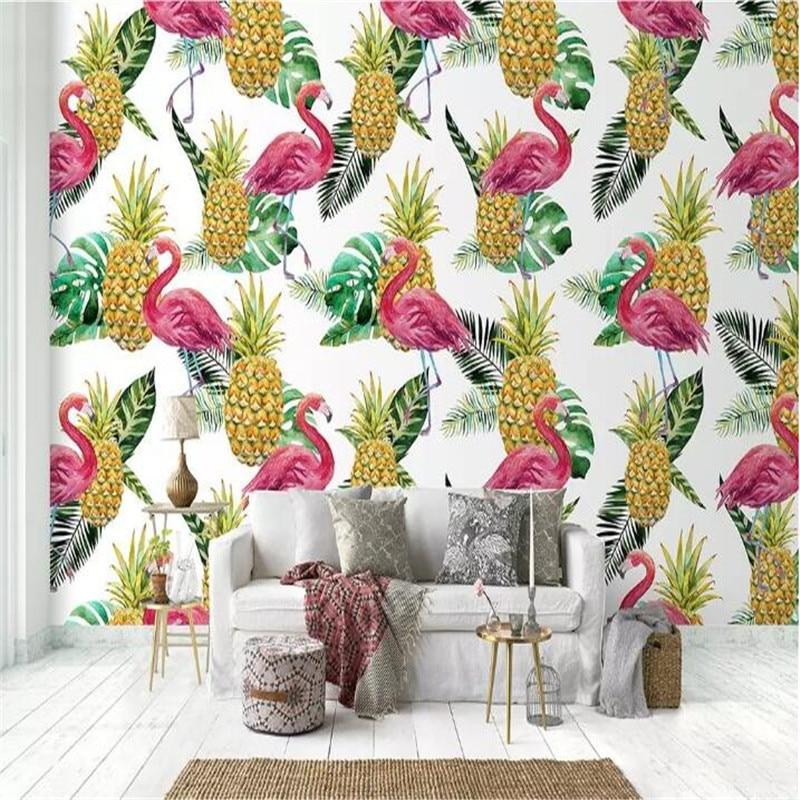 Wall, Wholesale, Cloth, High-grade, Watercolor, Flamingo