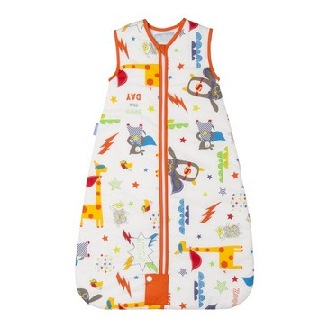 The Gro Company Save The Day Kid Baby Sleeping Bag Pure Cotton 1.0 Tog 0-6 /6-18 /18-36 Months