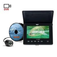 LUCKY FL180AR подводный детектор рыбалки камера ночной рыболовный монитор HD визуальный морской водонепроницаемый портативный 4,3 дюймов ЖК 20 м ус...