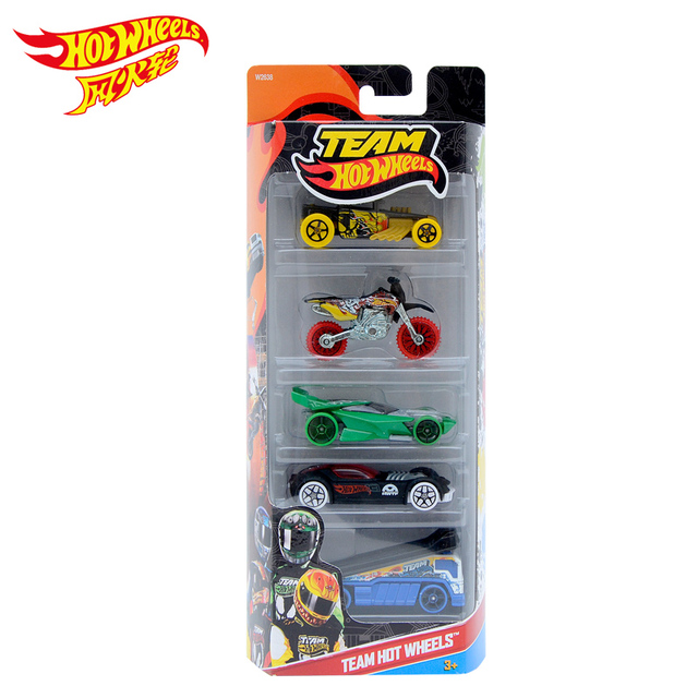 Hot Wheels 1:64 Sport Car Set Metal Material Body Race Car Collection Alloy Car Gift For Kid 5 Pcs/Lot 1806