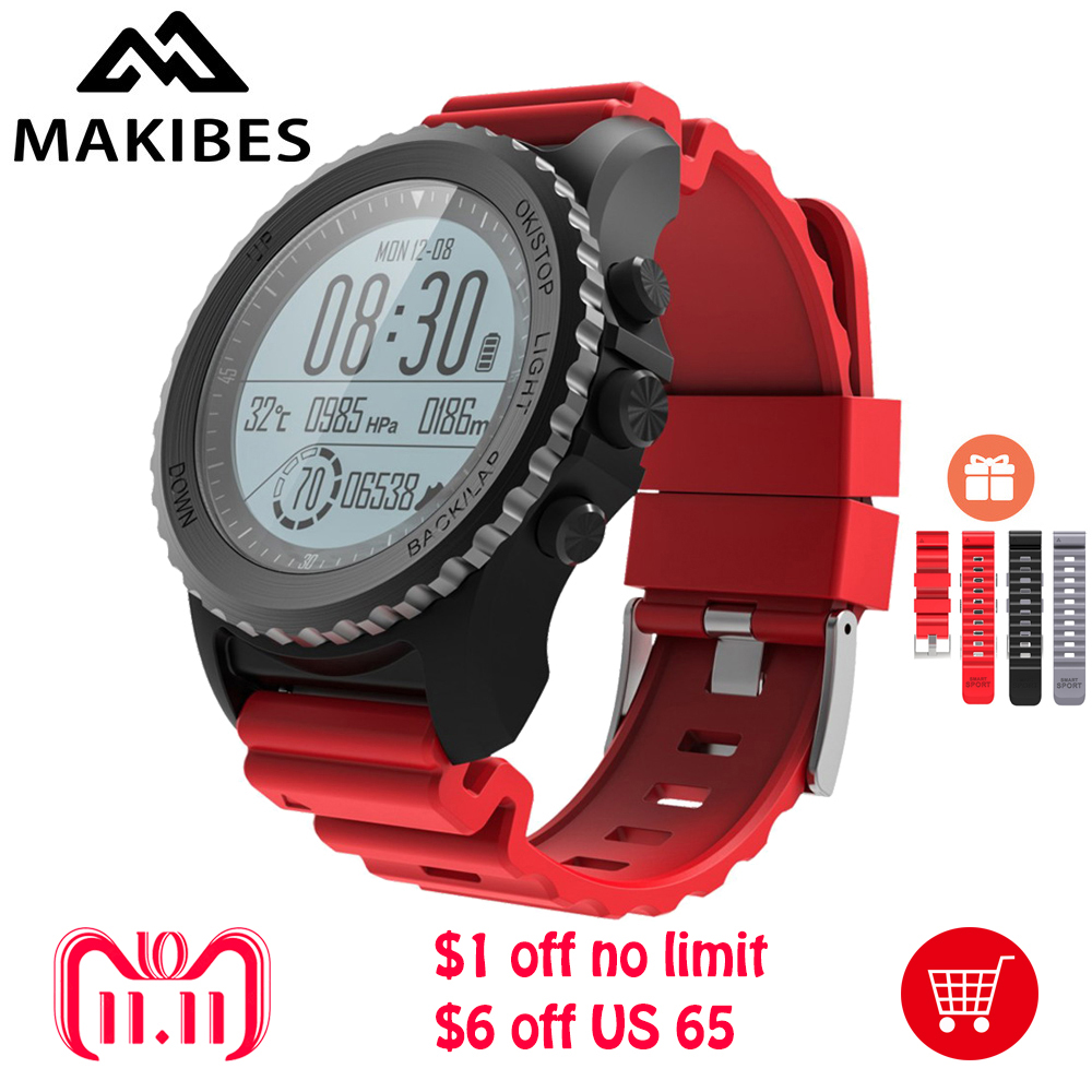 NEW Makibes G07 GPS Sport Watch Bluetooth Smart Watch IP68 Waterproof Dynamic Heart Rate monitor Multi-sport Watch GPS tracker makibes br2 smart watch men gps smartwatches electronic compass heart rate monitor multi sport dynamic optical sports watch