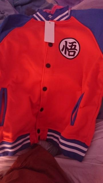 Dragon Ball Z Letterman Style jacket photo review
