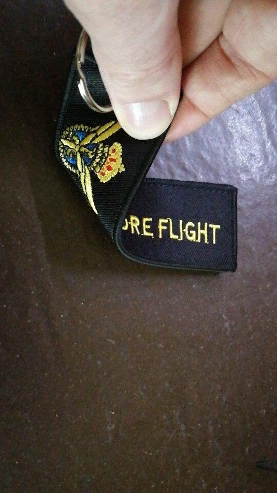 CLELO Pliot Flight Lanyard Crew Neck Strap Pilot Met Sleutelhanger voor ID Kaarthouder Instapkaart String Sling Luchtvaart Gift photo review
