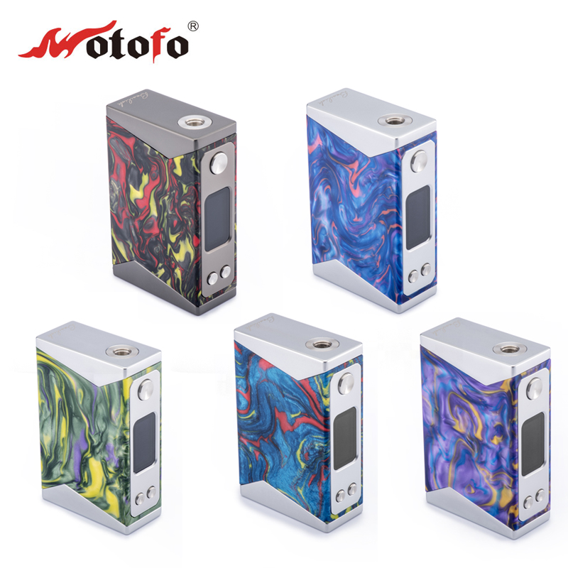 E-bossvape wotofo Nirvana 200W TC mods for 510 atomizer vape battery mods resin box e-cigarette for smok eleaf ijoy obs atomizer eleaf coral rda atomizer for diy