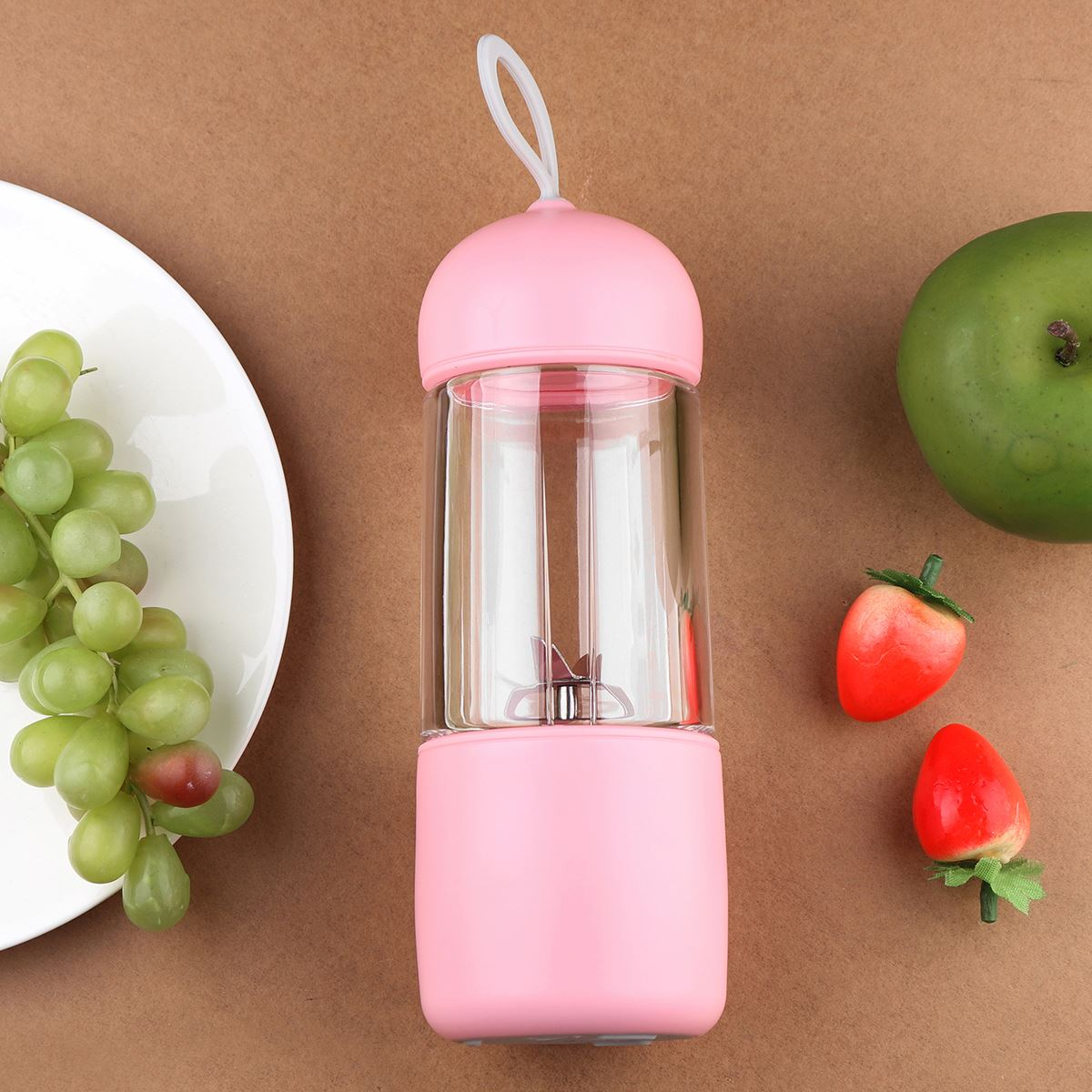 1Pcs Portable Blender Mixer Juicer High Power Food Processor Ice Smoothie Household Fruit Blender Mini Juicer 1pc wj a6 2200w heavy duty commercial grade blender mixer juicer food processor ice smoothie bar fruit stainless steel abs 220v