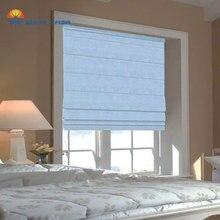 EWAY CASA Blackout Waterproof Solid Color Roman Curtains Roman Shades Window Home Blind Livingroom Bedroom Window decor No.RC_4M