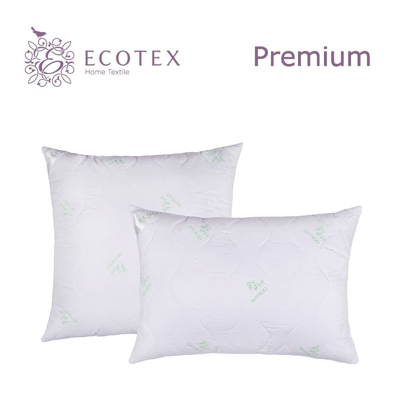Pillow Bamboo collection Premium. Production company Ecotex(Russia). pillow argo collection premium production company ecotex russia