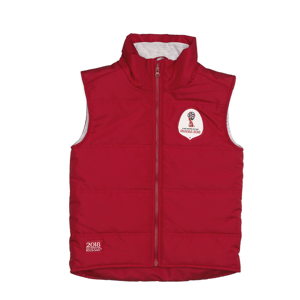 Vests & Waistcoats FIFA WORLD CUP RUSSIA 2018 for girls and boys F1-33 Vest Waistcoat Coat Kids Clothes Baby Clothing vests modis m181d00152 women vest jacket sleeveless jackets for female tmallfs