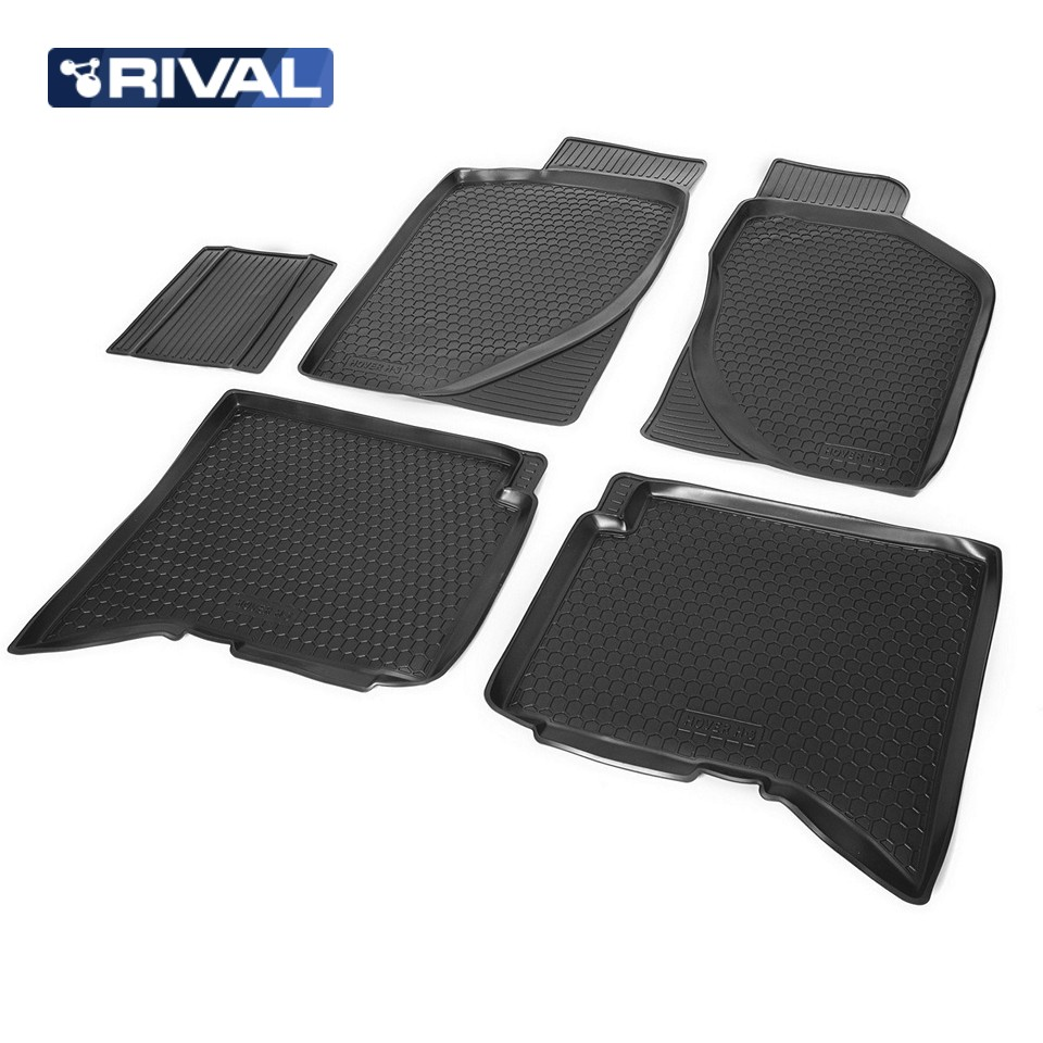 For Great Wall Hover H3 2014-2019 floor mats into saloon 5 pcs/set Rival 12001001 wall bricks wood floor print tapestry