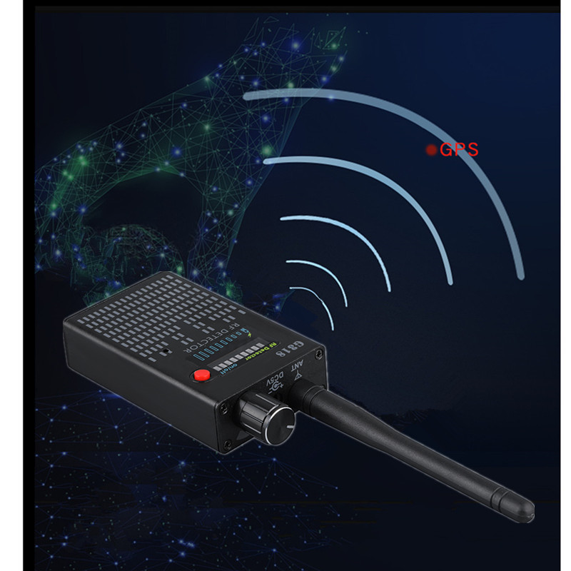 1-8000MHZ Anti-Spy Amplification signal detector spy bug camera wireless Detector spy detector device spy camera wireless G318