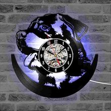 Dog 3D LED Lighting Wall Clock
