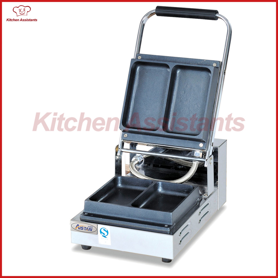 EG2A electric commerical ice cream sandwich maker making machine square pan rolled fried ice cream making machine snack machinery