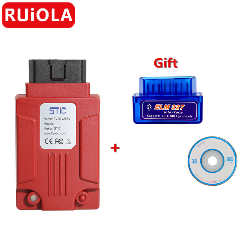 Newest FVDI J2534 Diagnostic Tool for mazda-in Electrical Testers & Test Leads from Automobiles & Motorcycles