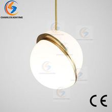 цена на CHARLESLIGHTING Modern Milk Globe Acrylic Pendant Lights For Dining Room Bar Pendant Lamp Hanging Light Lamps Lighting for Bar h